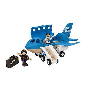 BRIO vliegtuig instappen Play Set
