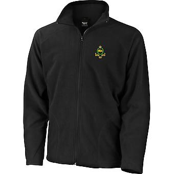 Kings Own Royal Border Regiment - Licensed British Army Embroidered Lightweight Microfleece Jacket