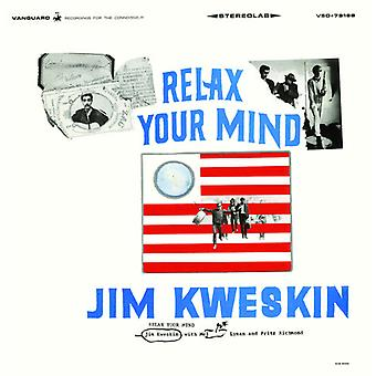 Jim Kweskin - Relax Your Mind [CD] USA import
