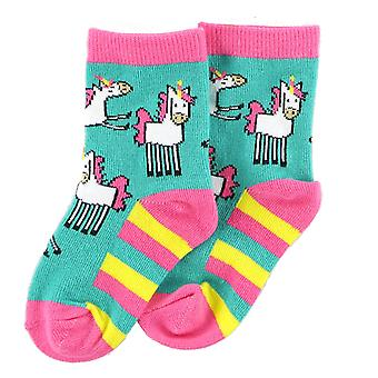LazyOne Baby Girls Unicorn Socks