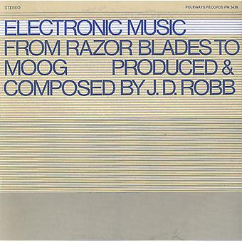 J.D. Robb - J.D. Robb Rhythmania: Electronic Music From Razor Blades to Moog [CD] USA import