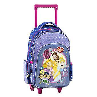 Graffiti Disney Princess Backpack - 44 cm - Purple (Purple)