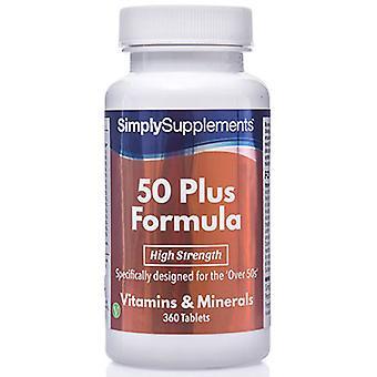 50-plus-formule - 120 comprimés
