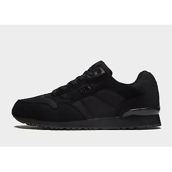 New Fila Men's Cress Knit Sports Trainers Black from JD Outlet