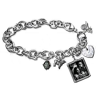 Twilight Jewellery Charm Bracelet (Edward & Bella)