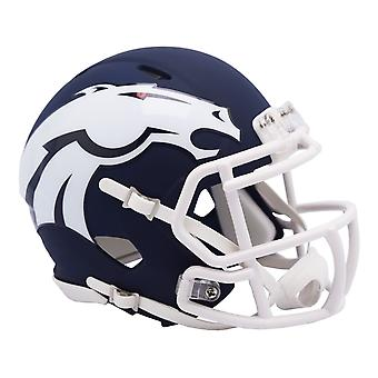 Riddell Speed Mini Football Helmet - NFL AMP Denver Broncos