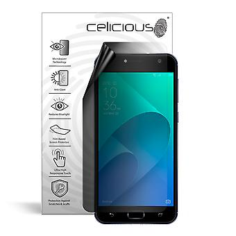 Celicious Privacy Lite 2-Way Anti-Glare Anti-Spy Filter Screen Protector Film Compatible with Asus Zenfone 4 Selfie (ZD553KL)