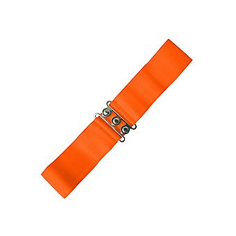 Dansende dagen oranje Vintage Stretch Belt M