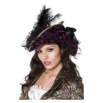Womens predoni pirata cappello costume accessorio