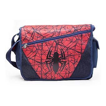Web Spider-Man Spider Logo tracolla Messenger Bag blu/rosso (MB00174SPN)