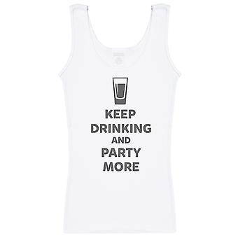 Sigue bebiendo y fiesta más - Chaleco de mujer