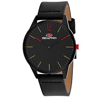 Seapro Men's Black hole Black Dial Watch - SP0100