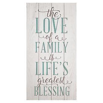 Maalaismainen rakkaus perheen seinätaiteeseen