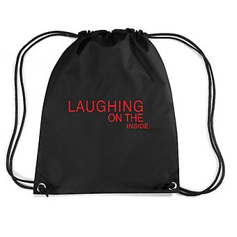 Black backpack fun2846 laughing on the inside