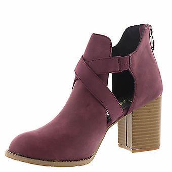 Beacon Reno Womens Round Toe Ankle Fashion Boots