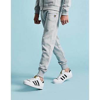 New Lyle & Scott Boy's Logo Track Pants Grey