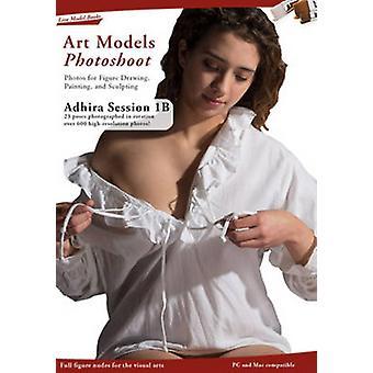 Kunst modellen photoshoot Adhira 1B sessie door Douglas Johnson