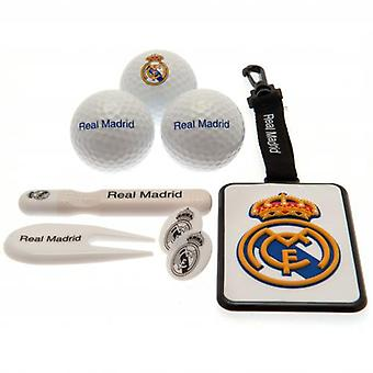 Ensemble cadeau de golf Real Madrid Premium