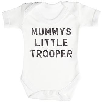 Mummys Little Trooper Baby Bodysuit / Babygrow