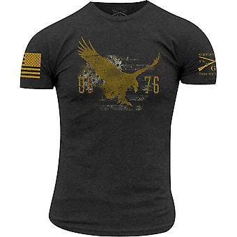 Grunt Style True American Spirit T-Shirt - Charcoal