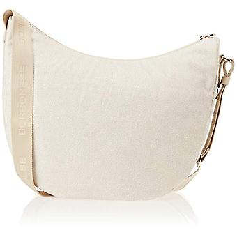 Borbonese 934757296 Women's Ivory Shoulder Bag 35x33x13 cm (W x H x L)