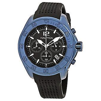Nautica Mens analog quartz watch with Silicone Strap NAD25504G