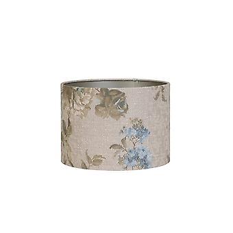 Licht & Living Zylinder Schatten 50x50x38cm Rosa Barock Sand
