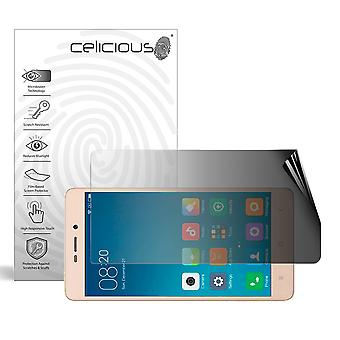Celicious Privacy 2-Way Paysage Anti-Spy Filter Protector Film Compatible avec Xiaomi Redmi 3s