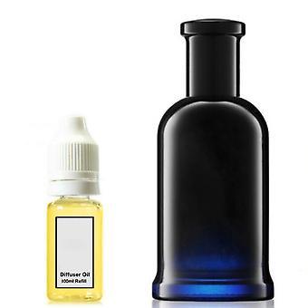 Hugo Boss Bottled For Him Inspired Fragrance 100ml Refill Essential Diffuser Oil Burner Scent Diffuser