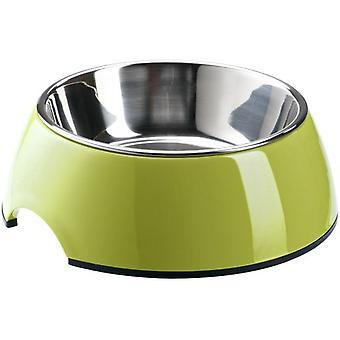 Hunter Melamiini ruokinta Bowl [uni] kellanvihreä (koirat, kulhot, syöttölaitteet & Vesijakelimet)