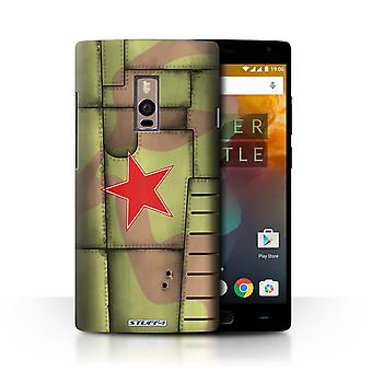 STUFF4 Case/Cover for OnePlus 2/Two/Soviet/Green/Airplane Fighter Wing