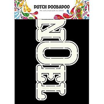 Hollandsk Doobadoo hollandsk kort kunst Noel 470.713.662 A5