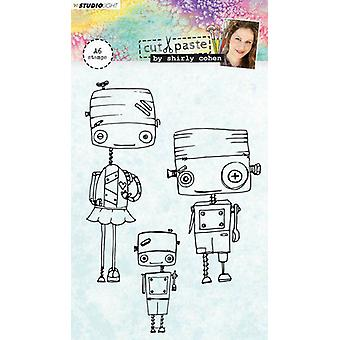Studio Light A6 Clear Stamp Shirly Cohen Number 01