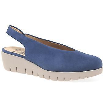 Wonders Barcelona Womens Wedge Heel Sandals