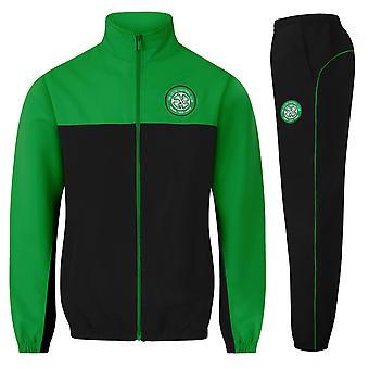 Celtic FC Officiel Football Gift Mens Jacket et Pants Tracksuit Set