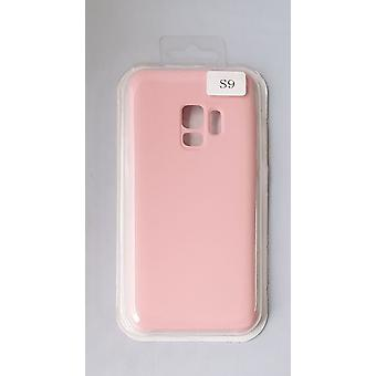 Silicone Cover Case for Samsung G960 S9 pink