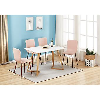 Marco Dallas Dining Table Set With 4 Chairs