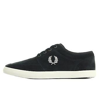 Fred Perry Mens Stratford Suede Leather Trainers B1168-266