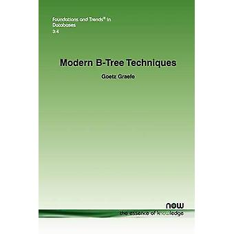 Modern BTree Techniques by Graefe & Goetz