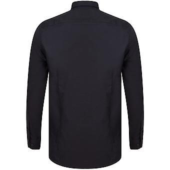 Henbury Mens Modern Long Sleeve Slim Fit Oxford Shirt