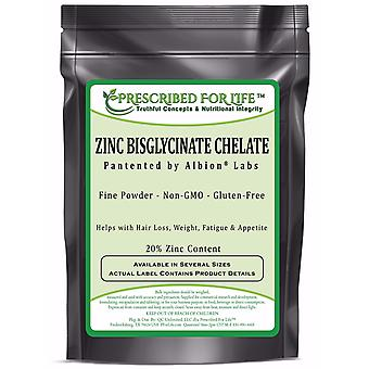 Zinc Bisglycinate Chelate by Albion - 20% Zinc