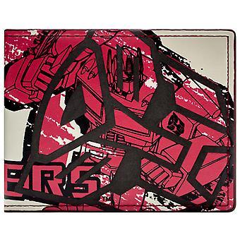 Transformers Drawn Style ID & Card Bi-Fold Wallet
