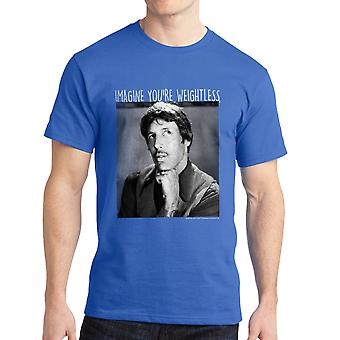 Napoleon Dynamite Imagine Weightless Men's Royal Blue Funny T-shirt