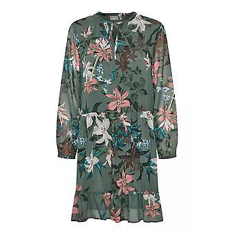b.young Chiffon Floral Swing Dress