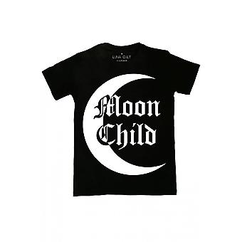 Twisted Apparel Moon Child Contrast T-Shirt