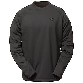 Caterpillar Mens Flex Layer Long Sleeve T-Shirt Black
