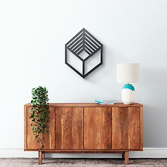 Metal Wall Art - Square 3D
