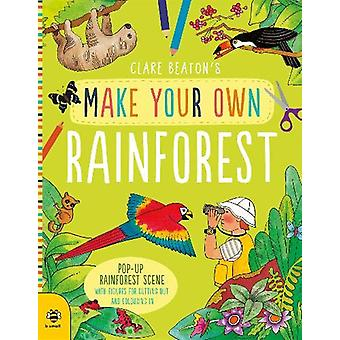 Make Your Own Rainforest - Pop-Up Rainforest Scene with Figures for Cu