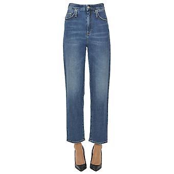 Département Cinq Ezgl534002 Women's Blue Cotton Jeans