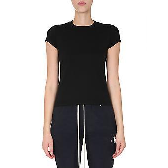 Rick Owens Rp20f2235ja09 Women's Black Cotton T-shirt